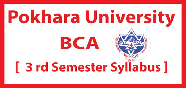 BCA Pokhara University Third Semester Syllabus