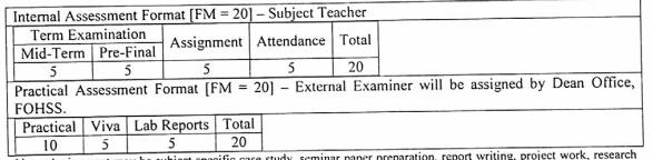 Marks Evaluation