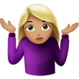 cute girl idk emoji