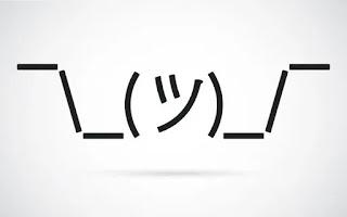 idk emoji using dashes
