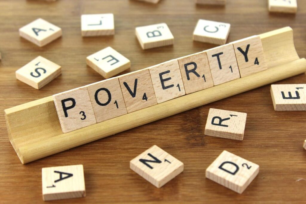 Major types of poverty